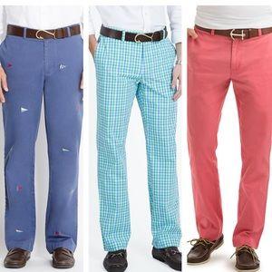 VINEYARD VINES - 3 pair chino pants bundle, 36/32
